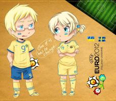 Euro 2012 Sweden Ukraine by Fannochka