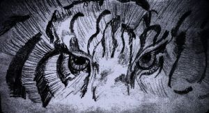 Eyes of the tiger by manuvelez-art