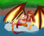 Dragon Lady WIP 2 by Rainydaysmiles