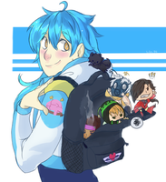 .:DMMD:. Brought My Boyfriends to School by party-mcfly