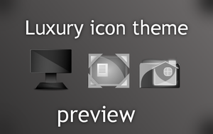 Luxury icon theme preview by Enrix835