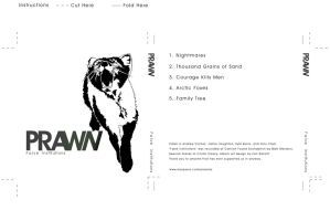 Prawn Album Cover by difusion