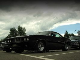black 71 barracuda by AmericanMuscle