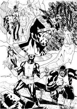 All New Xmen by robertcheli