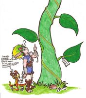 Jak and the beanstalk by Silverspegel