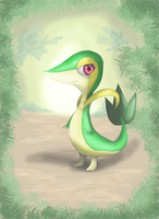 Tsutaja 5th Gen Starter by DeadlyObsession