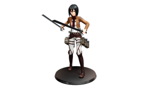 Mikasa by GhostFaceFun