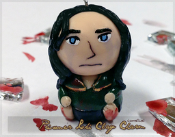 Prisoner Loki Clay Charm by Comsical