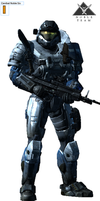 Noble Six is all of Noble team by Marksman104