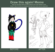 Draw it Again Meme: Kai Kamiko by Scoric