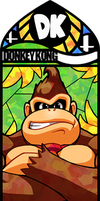 Smash Bros - Donkey Kong by Quas-quas