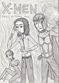X-Men - Days of Future Past by queenfire