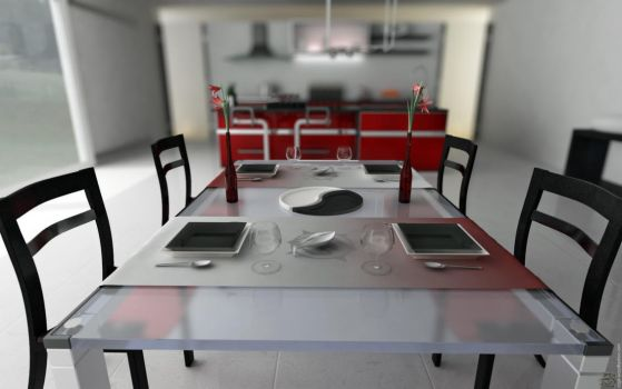 Kitchen Table DOF by Cage-waRp