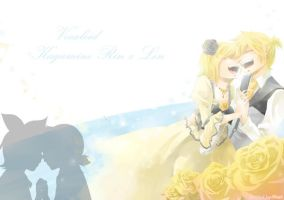 Kagamine Twins Servant of Evil by RoezNoah917