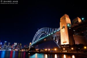 Sydney Harbour Bridge - 01 by shiroang