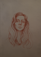 Face Sketch 2 by Irkis