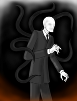 No more notes (Slenderman) by Yuniegard