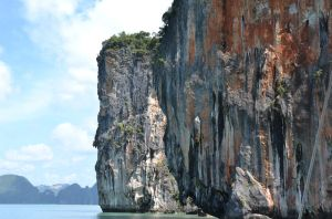 Phang-Nga Bay Cliff Islands by MayEbony