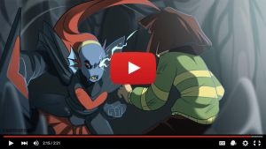 Animation - Undertale - Undyne The Undying by YAMsgarden