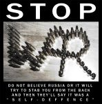 STOP WAR  -  STOP RUSSIA by AlonzoMonzley