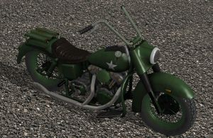 'Ride to Hell: Retribution' Army Bike XPS ONLY!!! by lezisell