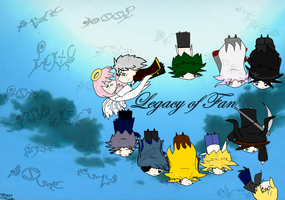 Legacy of Fan wallpaper by Akask1-chibi