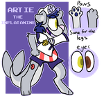 Artie by SpectraPaws