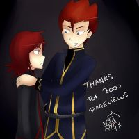 THANKS FOR 3000 PAGEVIEWS by saeru-bleuts