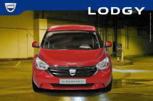"""Dacia-Renault """"Lodgy"""" family car by Bispro"""