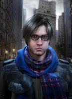 #Hipster Leon by DemonLeon3D