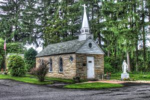 Small Church by Daemare