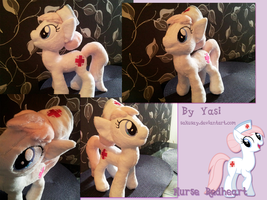 My little Pony - Nurse Redheart Plushy #1 by SakuSay