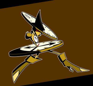 Time Witch Clock Robot-Looking Gal by Slirth
