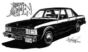 Dodge Aspen 1980 by Berlioz-II