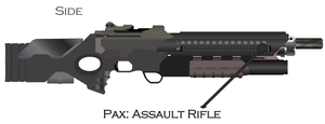 Pax Assault Rifle by Jon-Michael-May