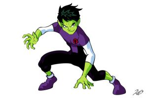 Day 03 - Beast Boy by RickCelis