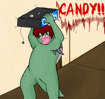 Steve STILL wants candy by Stais