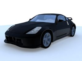 350Z car Render by Nairamo82