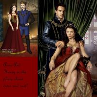Queen Anne Boleyn And King Henry Tudor The 8th by monsterhighlover3