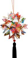 Rainbow Star Kusudama by MyFebronia