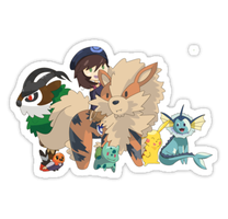 Pokemon Sticker - Team Alex by spot1the2dog3