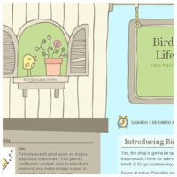 Birdies Good Life for Blogger by arwenita