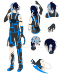 ::Adoptable:: Nox - Cyber Guy -CLOSED- by KirCorn