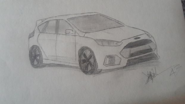 My Ford focus rs by J4k3-wood2