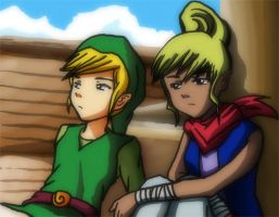 Link and Tetra by DKLreviews