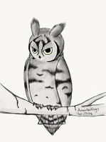 Another owl by AshesAndWings
