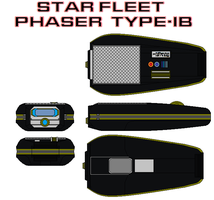 Star fleet Phaser  Type-IB Alternate reality by bagera3005