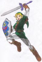 Link - Soul Calibur 2 by FWV