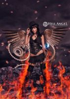 Hell Angel by monsterz-arts