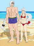 Beach Couple by Wing-Saber